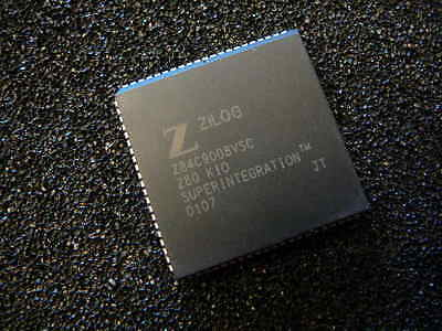 ZILOG Z84C9008VSC I/O Controller Interface IC 8MHZ Z80 KIO 84-PLCC **NEW**