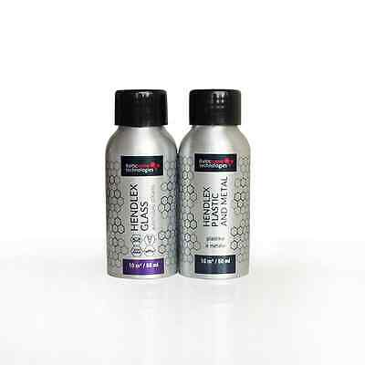 Hendlex GLASS INVISIBLE WIPERS 50ml Hendlex PLASTIC AND METAL 50ml