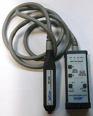 LeCroy AP033  10x 500MHz Active Differential Probe Only Tested