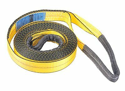 "2"", 20' Tow Strap with Reinforced Loops 10,000 LB Capacity...NEW"