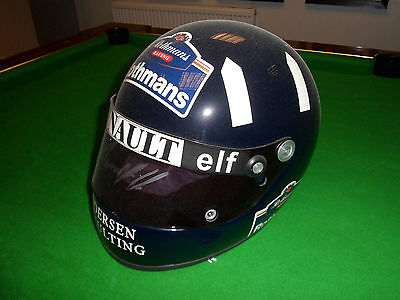 Helmet - Original Hand Signed Formula One F1 Damon Hill Racing Driver