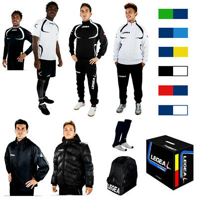 Legea Tornado Set 12-teilig Fußball Box Trainingsanzug Trikot Set Herren Kinder