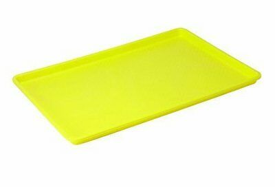 Winco FFT-1826YL Plastic Tray, 18-Inch by 26-Inch, Yellow...NEW