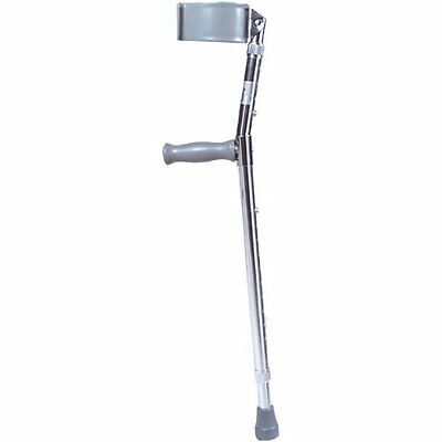 Drive Medical Forearm Crutch, Gray, Adult