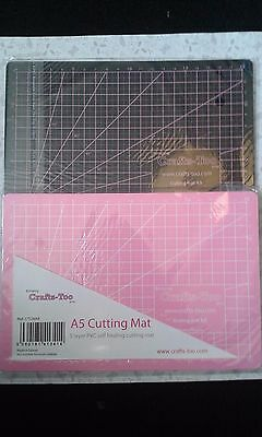 Cutting/ self healing cutting mats in choice of two designs craft card making