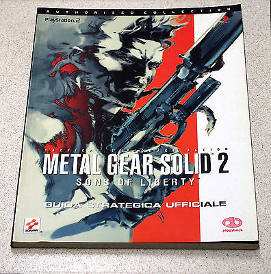 Metal Gear Solid 2:sons Of Liberty Guida Strategica Ufficiale