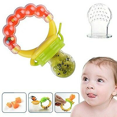 Baby Feeder Pacifier Silicone Sac Teether Nibbler Soother for feeding food wi...