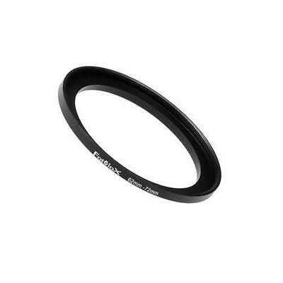 Fotodiox Metal Step Up Ring Filter Adapter, Anodized Black Aluminum 62mm-72mm,