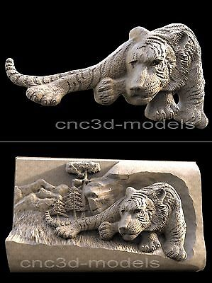 3D STL Models for CNC Router Engraver Carving Artcam Aspire Tiger 188