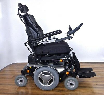Permobil M300 3G power wheelchair -- R-NET color LCD display remote