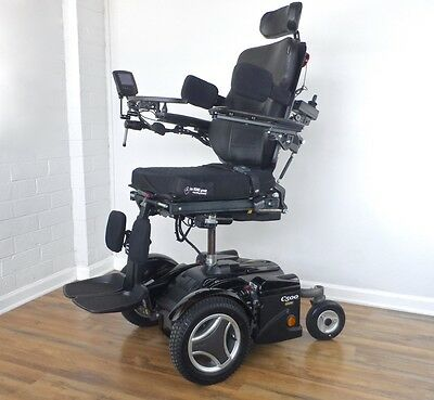 Permobil C500 3G power wheelchair -- LOADED with All Power Seating upgrades