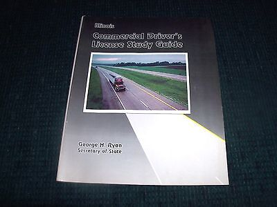 Vntg Illinois Commercial Driver's License Study Guide Book