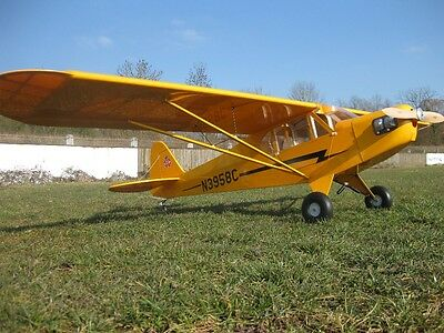 RC 2547mm Scale 1:4 PIPER CUB CUP GROßMODELL 1/4 Flugmodell J3 ARF gelb