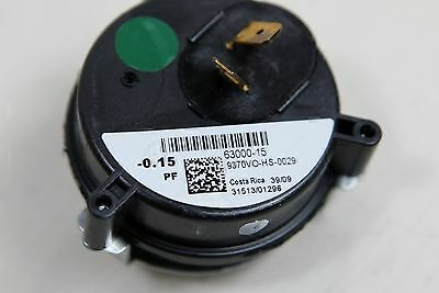 Furnace HWT Air Pressure Switch 9370VO-HS-0029 -0.15 PF 63000-15