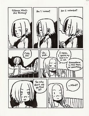 Lost at Sea page 118 Scott Pilgrim EARLY BRYAN LEE O'MALLEY!!!