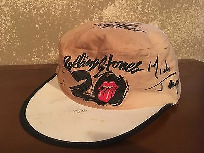 Vintage Rolling Stones Let's Spend the Night Together 20 Years Hat Cap Retro