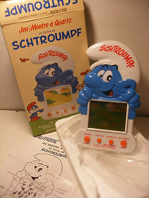 game & watch 1983 TIGER Smurf SCHTROUMPFS Screen electronic jeu electronique LCD