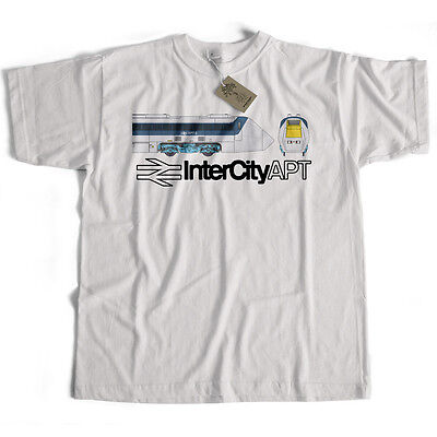 British Rail T Shirt - APT High Speed Train Logo from Old Skool Hooligans