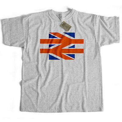 British Rail T Shirt - Union Jack Version Logo from Old Skool Hooligans Train