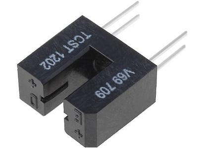 4x TCST1202 Optocoupler slotted with flag Out transistor CTR@If10%@20mA