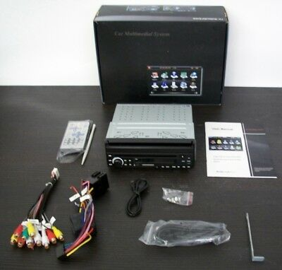 Car Mulimedia System Analog TV, touchscreen