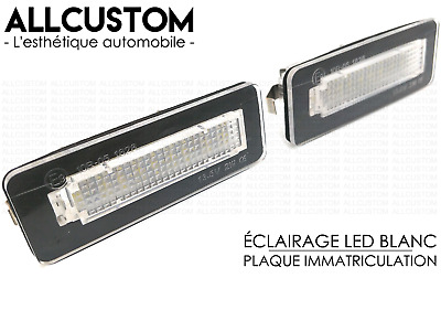 LED LEDS PLAQUE IMMATRICULATION ECLAIRAGE BLANC XENON SMART FORTWO W453 Coupe