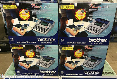 P-TOUCH 3600 - Brother PT-3600 Label Printer - NEW