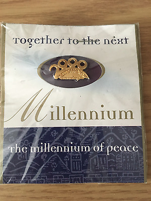 the millennium of peace collectors pin