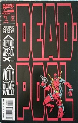 Deadpool #1 The Circle Chase First Print
