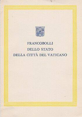 Vatican-1964 Official Christmas First Day Cover
