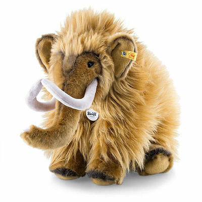 STEIFF Mimmi Mammoth EAN 082429 38cm Brown Plush soft toy gift New