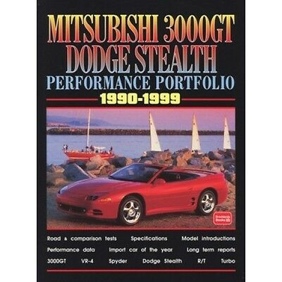 Mitsubishi 3000GT & Dodge Stealth Performance Portfolio 1990-1999 book paper