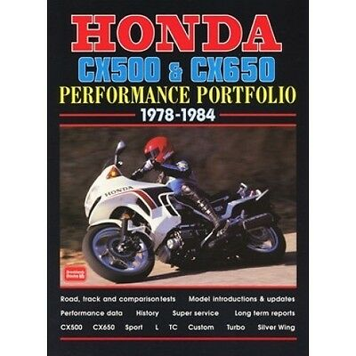 Honda CX500 & CX650 Performance Portfolio 1978-1984 book paper
