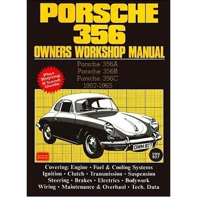 Porsche 356 Owners Workshop Manual 1957-1965 book paper
