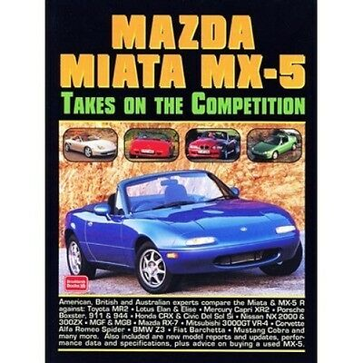 Mazda MX-5 Takes on the Competition book paper