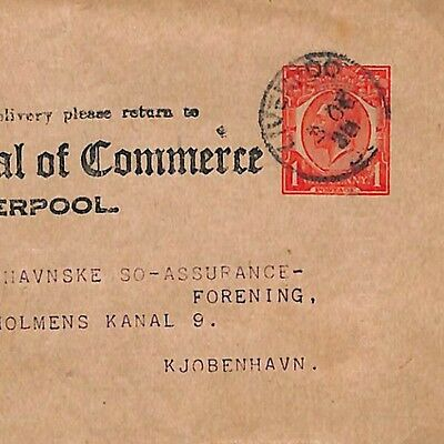 Q298 1920s Liverpool to Denmark