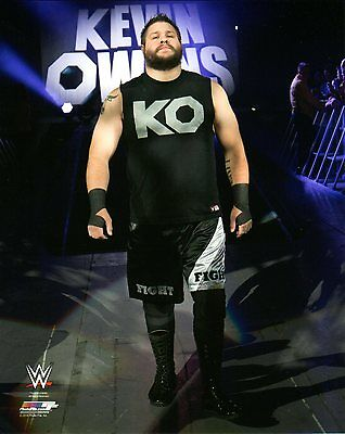 """WWE PHOTO KEVIN OWENS WRESTLING OFFICIAL 8x10"""" PROMO NXT"""