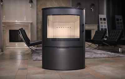 Curved Contemporary Modern Woodburning Stove Stoves