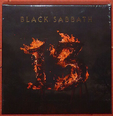 "Black Sabbath - 13 Limited Edition 12"" clamshell box set."
