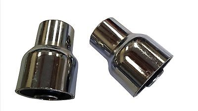 ukscooters LAMBRETTA GP SILENT BLOCKS PAIR CHROMED WITH 3 HOLE ENGINE MOUNTS