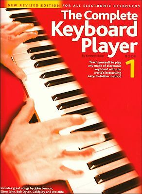 The Complete Keyboard Player Book 1 Revised Ed Sheet Music Beginner How To Play