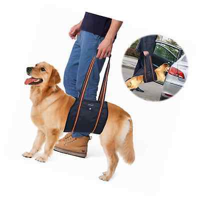 Dog Lift Harness, PETBABA Mobility Rehabilitation Sling Support Harness with Han