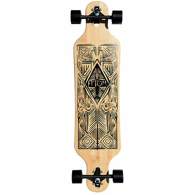 "2015 Atom 40"" Bamboo Drop-Through Longboard"
