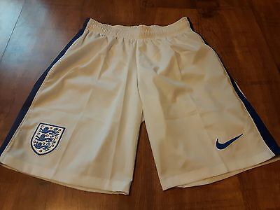 Nike England Home Shorts 2016 Mens Size S