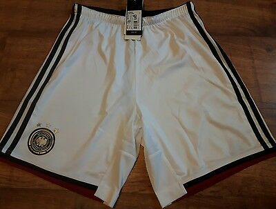 adidas Germany Home Shorts 2014 Mens Size S