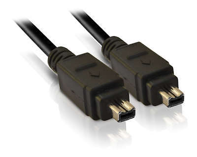 VC-VDV204U 4-4 pin Firewire Camcorder DV LEAD CABLE CORD for JVC Video Transfer