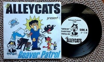"THE ALLEYCATS / BEAVER PATROL - 7"" (Italy 1997 - 6 tracks) TOP RARE !!!"