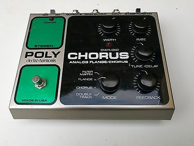 Electro Harmonix Polychorus  Stereo Chorus - Free Next Day Delivery In The Uk