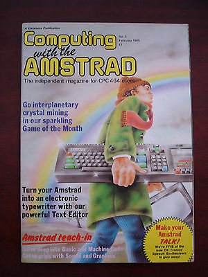 Job lot of Computing with the Amstrad magazines 1985/Revistas Amstrad CPC