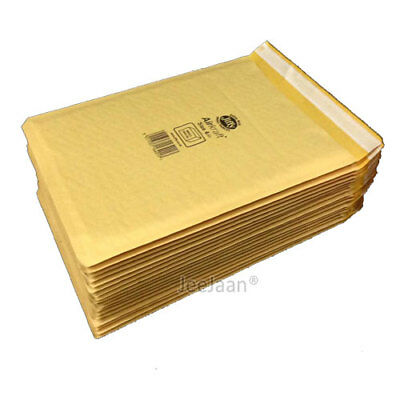 GENUINE GOLD JIFFY PADDED ENVELOPES BAGS *ALL SIZES* ALL QTY Bubble